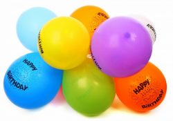 Flotte helium balloner kan live enhver fest op
